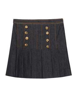 HILFIGER COLLECTION Marine Mini Skirt Denim