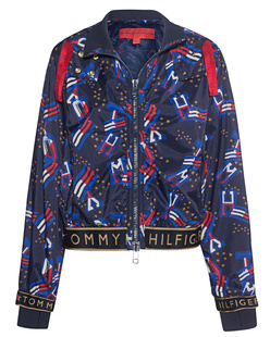 HILFIGER COLLECTION Windbreaker Printed Track Blue