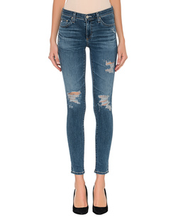 AG Jeans Ankle Destroyed Blue