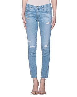 AG Jeans Super Skinny Ankle Blue