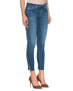 AG Jeans Ankle Slits Blue