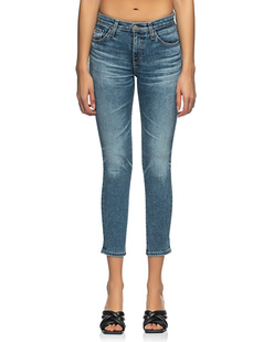 AG Jeans The Prima Crop Blue