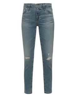 AG Jeans Prima Crop Light Blue
