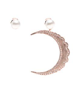 Priyanka Large Moon White Pearl