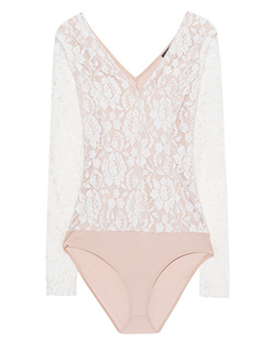 ELLA MOSS Lace Bodysuit Natural