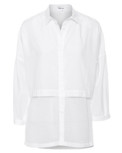 HELMUT LANG Layed Cotton White