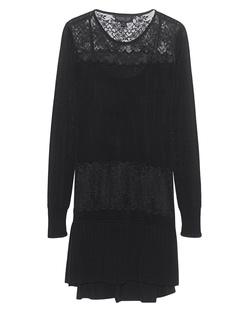 Rachel Zoe Collection Filigree Lace Knit Black