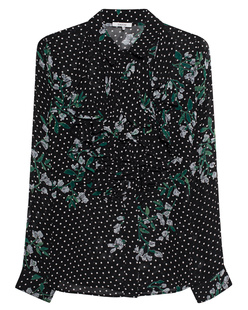 Ganni  Rometty Georgette Flower Black