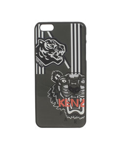 KENZO Large Tiger Heads Logo Anthra