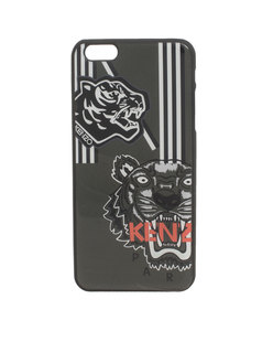 KENZO Plus Double Tiger Head Logo Anthra