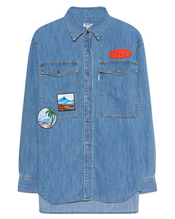 KENZO Patches Light Denim