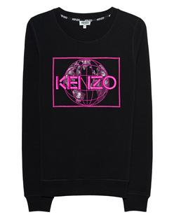 KENZO Sweater Globe Black