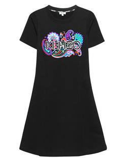 KENZO Label Embroidery Black