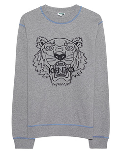 KENZO Tiger Embroidery Grey