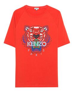 KENZO Tiger Print Front Orange
