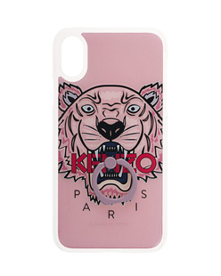 KENZO iPhone X Tiger Ring Rose