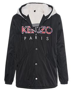 KENZO Logo Hood Black