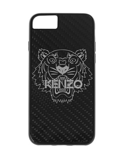 KENZO iPhone 7/8 Carbon Fiber Black