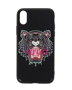 KENZO iPhone X Tiger Acryl Black