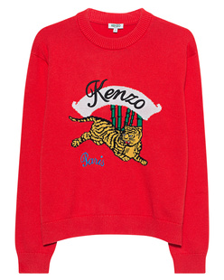 KENZO Jumping Tiger Red