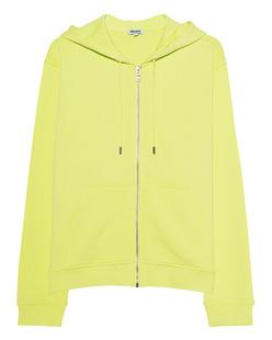KENZO Hoodie Zip Neon Lime Green