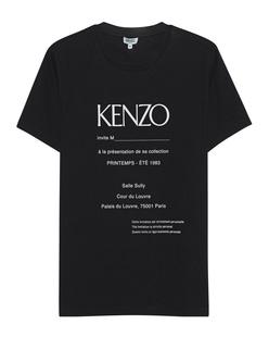 KENZO Logo Adress Black