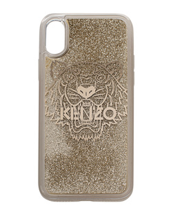 KENZO iPhone X Tiger Head Gold