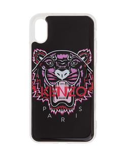 KENZO Iphone X/Xs Case 3D Tiger Head Black