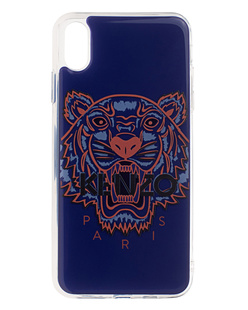 KENZO Iphone Xs MAX 3D Tiger Head Blue
