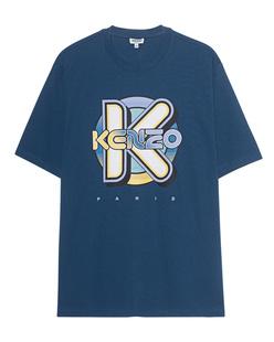 KENZO Wetsuit Shirt Oversize Blue