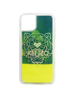 KENZO Tiger Iphone 11 Case Yellow