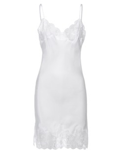FALCON & BLOOM Romantic Slip White