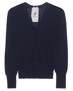 FRIENDLY HUNTING Cardigan Raglan Sport Cuff Midnight Blue