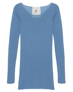 FRIENDLY HUNTING Pury Long Crew Neck Cover Blue