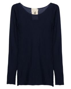 FRIENDLY HUNTING Pury Long Crew Neck Midnight Blue