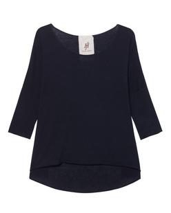 FRIENDLY HUNTING Shirt Lax 3/4 Sleeve Midnight Blue