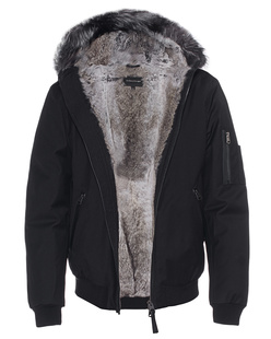 MACKAGE Fulton Fur Black
