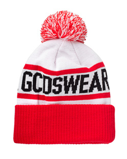 GCDS Logo Bobble Red White