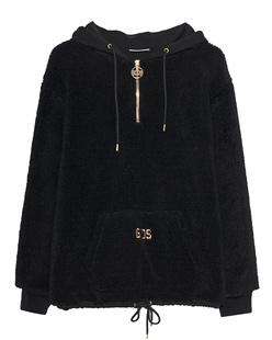 GCDS Half Zip Black