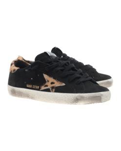 GOLDEN GOOSE Superstar Leather Black
