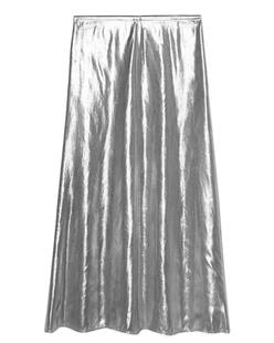 GOLDEN GOOSE Slip Skirt Silver