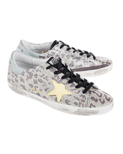 GOLDEN GOOSE Superstar Glitter Leopard