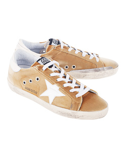 GOLDEN GOOSE DELUXE BRAND Superstar Gold Velvet