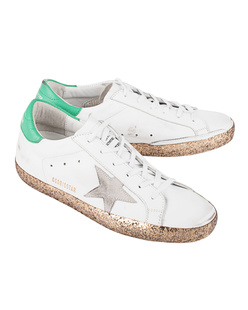 GOLDEN GOOSE DELUXE BRAND Superstar White Leather Gold