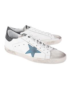 GOLDEN GOOSE DELUXE BRAND Superstar Blue White