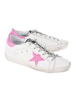 GOLDEN GOOSE DELUXE BRAND Superstar Glitter Pink White