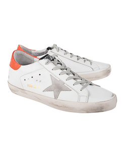 GOLDEN GOOSE DELUXE BRAND Superstar Ice Star Orange White