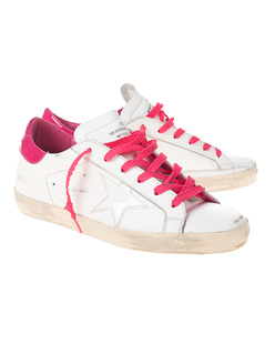 GOLDEN GOOSE DELUXE BRAND Superstar Pink White