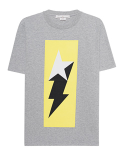 GOLDEN GOOSE DELUXE BRAND Logo Flash Grey