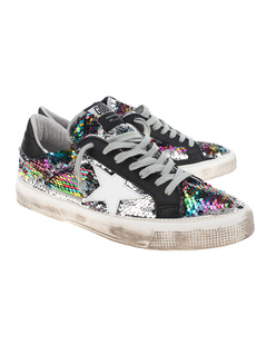 GOLDEN GOOSE DELUXE BRAND May Sequins Silver